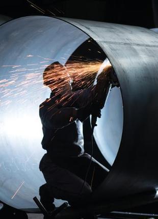 Трубы стальные (электросварные) больших диаметров 170-10000 мм.