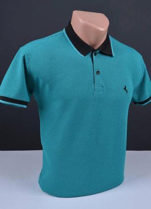 Мужская и подростковая футболка поло, футболка с воротником.