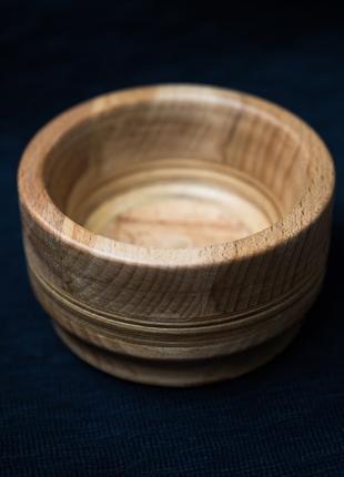Ваза из древесины дуба Посуда из дерева
