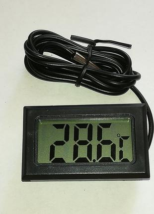 Цифровой термометр с выносным датчиком градусник