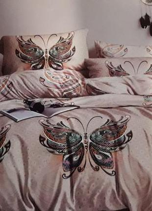 Постельное белье бабочки сатин