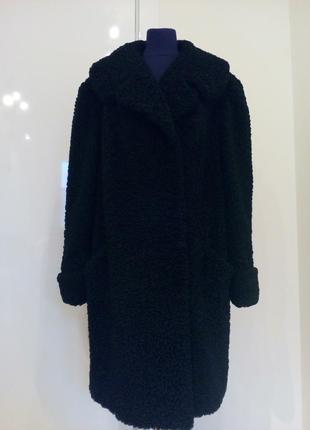 Пальто-шуба из натурального каракуля