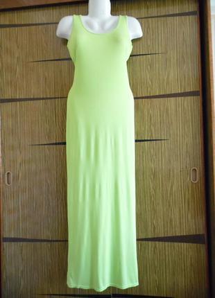 Платье майка в пол boohoo размер 8(36) – идет на 42-44+.