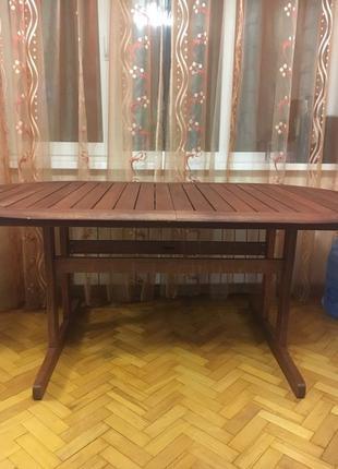Стол кухонный тз натурального дерева