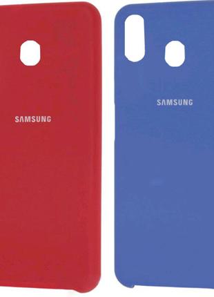 Чехол Silicone Cover для Samsung Galaxy A20 / A30