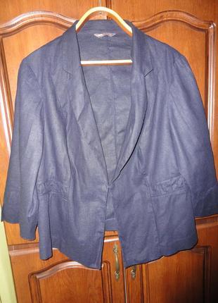 Летний пиджак большого размера