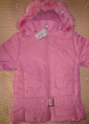 Новая зимняя курточка на синтепоне