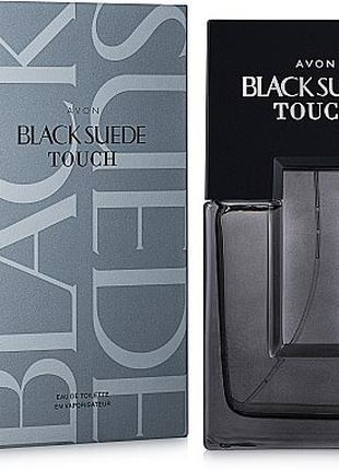 Туалетная вода мужская black suede touch 125 мл