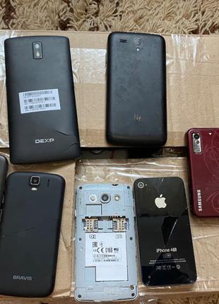 смартфони телефони запчастини відновлення лот