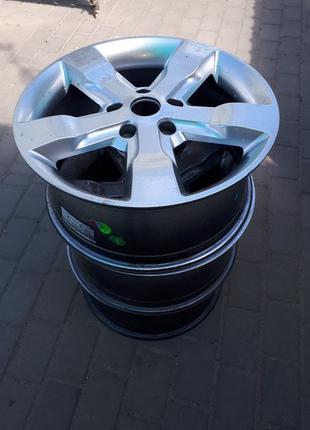 Диски литые + резина R18, колесо