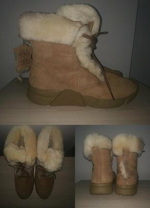Зимние ботинки 42-43 р полусапожки