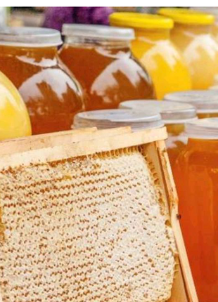 Продам натуральний квітковий мед
