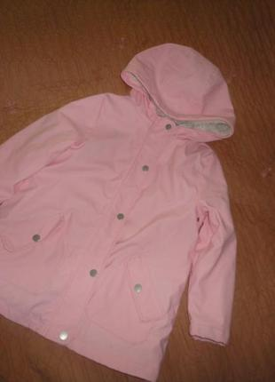 Куртка- дождевик на меху