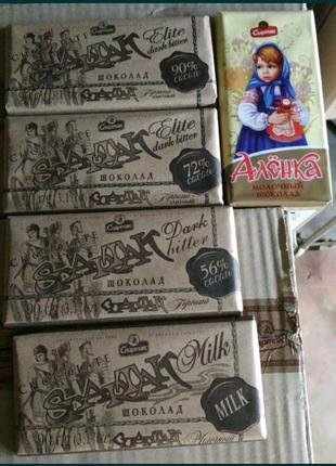 Шоколад Спартак Spartak белорусский 90% какао