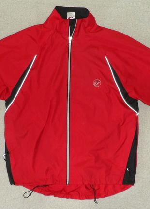 Куртка спортивная  Crane красная размер M