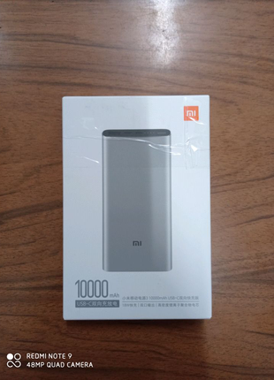 Xiaomi Powerbank 3 10000mAh Silver Оригинал