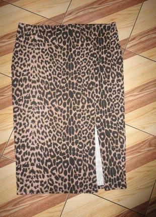Трикотажная юбка лео большого размера
