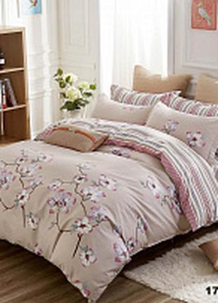 Полуторный комплект постельного белья № 17174