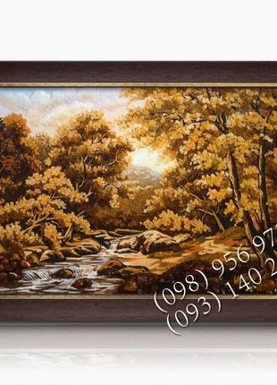Картини з бурштину, пейзажі, ікони, портрети, картины из янтар...