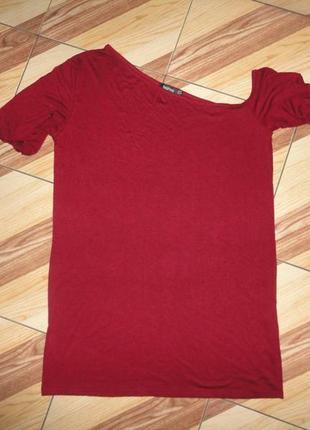 Мини платье цвета марсала