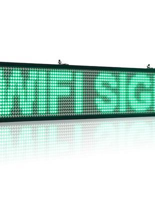 Бегущая строка влагостойкая с WIFI 200см*40см/зеленая