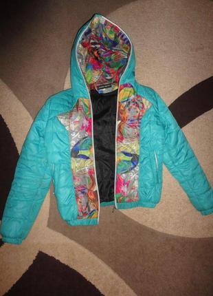 Курточка деми на подростка