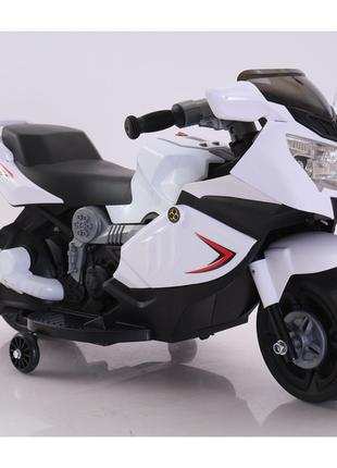 Детский мотоцикл BMW T-7215, белый