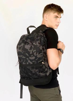 Рюкзак intruder brand городской для ноутбука серый камуфляж