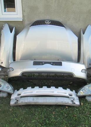 Бампер Решетка Lexus RX 300 350 Капот Вентилятор Фара Панель У...