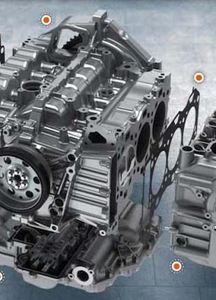 PORSCHE Капитальный ремонт двигателя