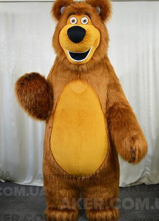 Надувной костюм Машин Медведь