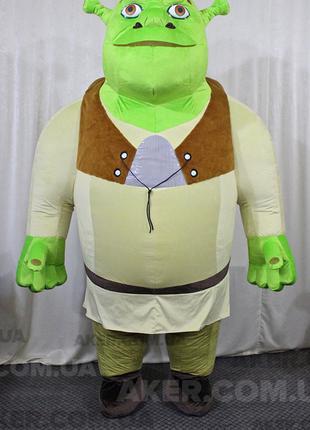 Надувной костюм Шрек