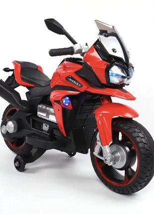 Детский мотоцикл T-7227 на аккумуляторе, красный