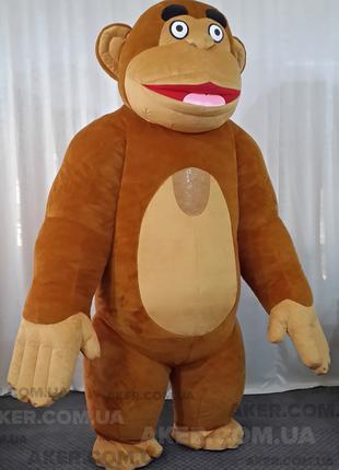 Надувной костюм Обезьяна