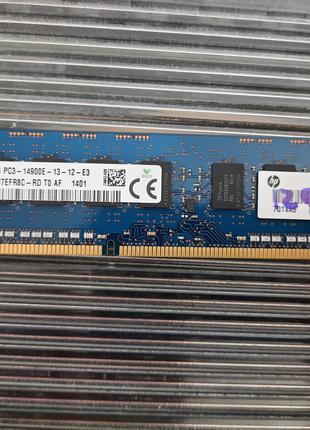 Память для рабочей станции / сервера 4gb DDR3 PC3-14900E 1866Mhz