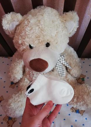 Низкие белые носочки для малышей 1-2 годика