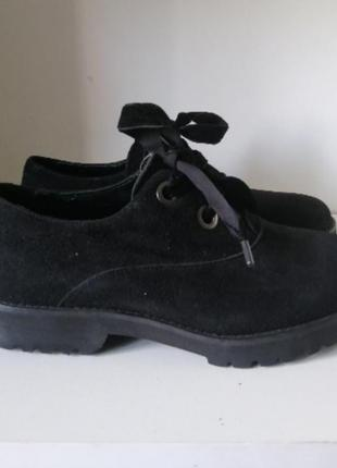 Туфли дерби оксфорды