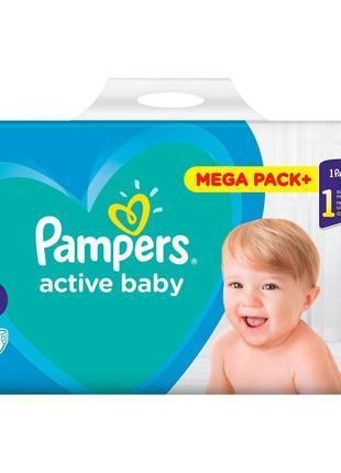 подгузники Pampers active baby 5 110 шт