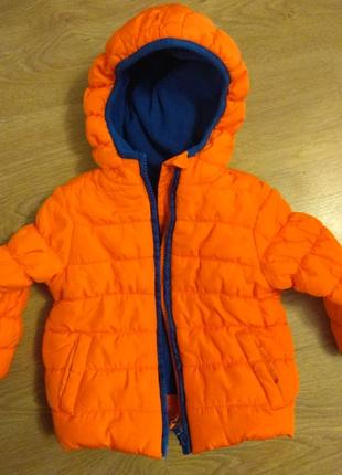 Куртка для мальчика,   осень 9-12 мес, 80 см.
