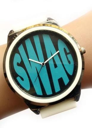 Swag часы с крупным циферблатом