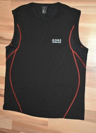 Gore running wear  спортивная беговая футболка мужская
