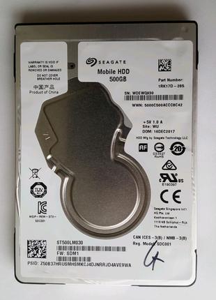 Жесткий диск для ноутбука HDD 500GB