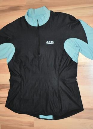 Футболка gore running magnitude windstopper jersey lady