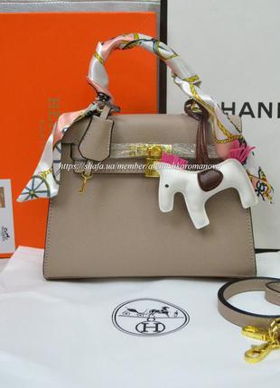 Женская сумка в ст. hermes kelly гермес в расцветках