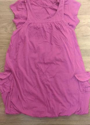 Трикотажное платье benetton на девочку 8-9 лет