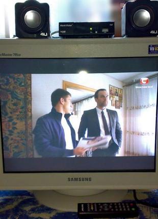 Телевизор для цифрового эфирного телевидения DVB-T2 полн.комплект
