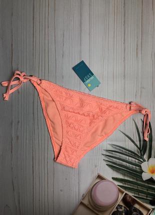 Яркие плавки бикини на завязках бренда new look (2617)