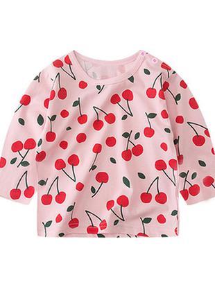 Лонгслив вишни