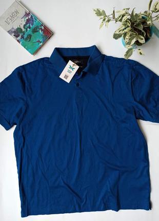 Синє чоловіче поло. мужское поло. футболка поло