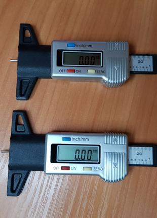 Глубиномер цифровой, измеритель протектора шин. Глибиномір.